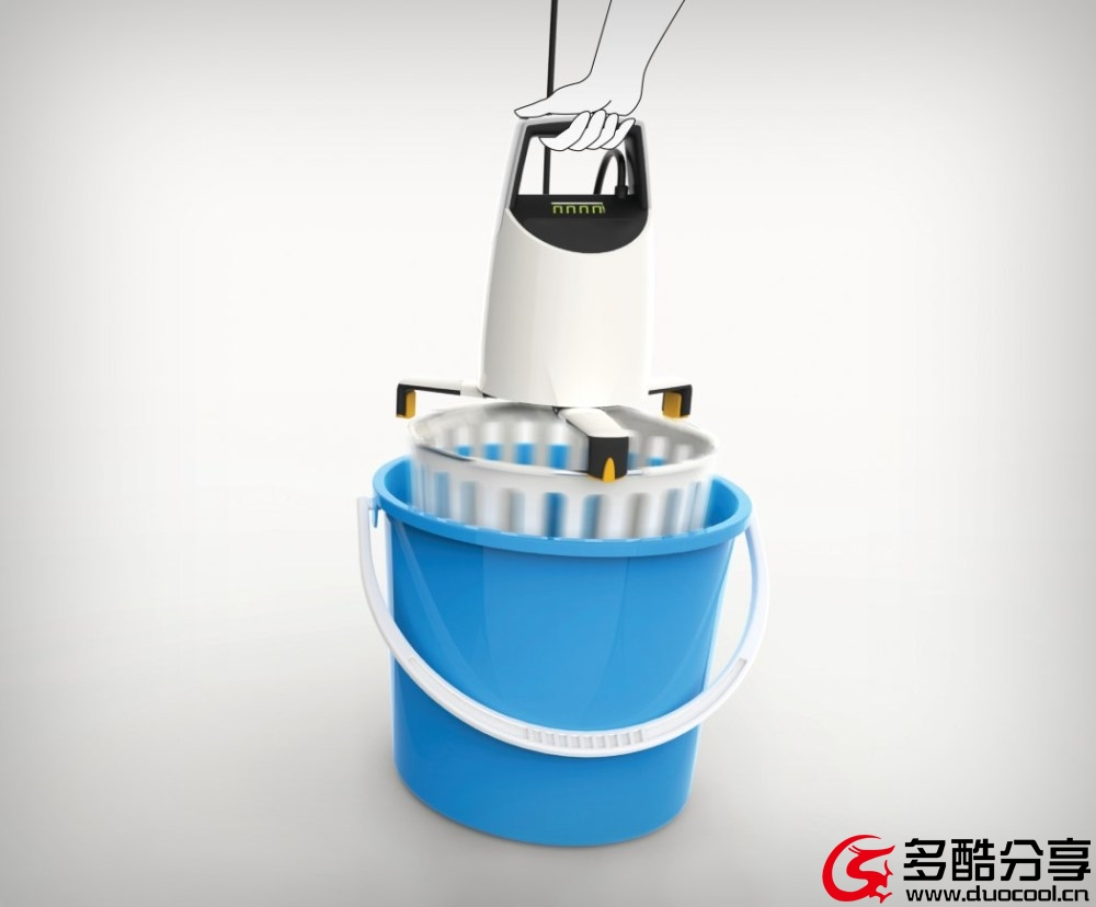 【新奇创意】小洗衣机,单身汉的梦想--Www.Duocool.cn